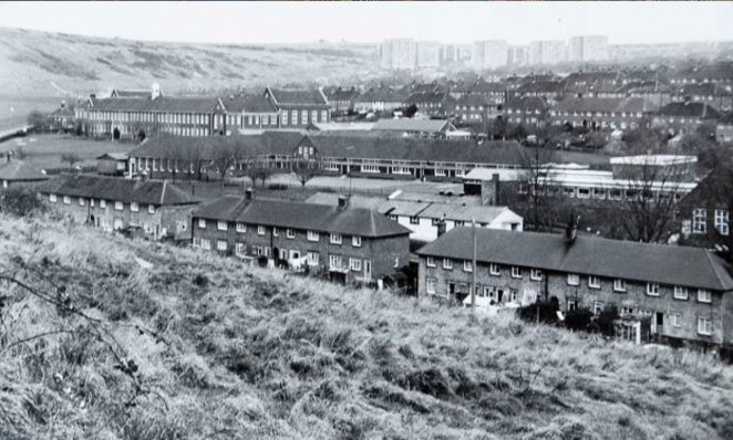 Whitehawk development 1976 | Image reproduced with kind permission of The Regency Society and The James Gray Collection