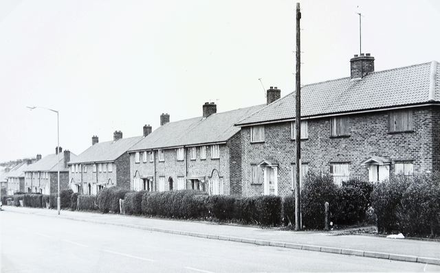 Whitehawk Road in 1976 | Image reproduced with kind permission of The Regency Society and The James Gray Collection