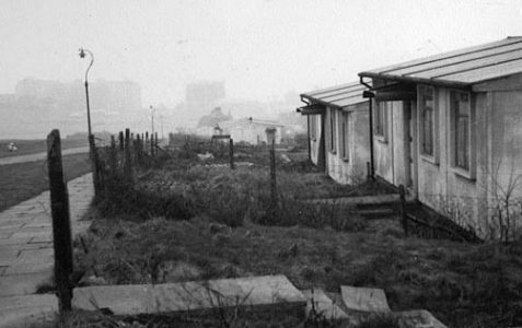 Prefabricated houses in the 1950s