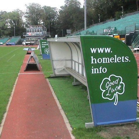 The dugout   Photo by David Lockie