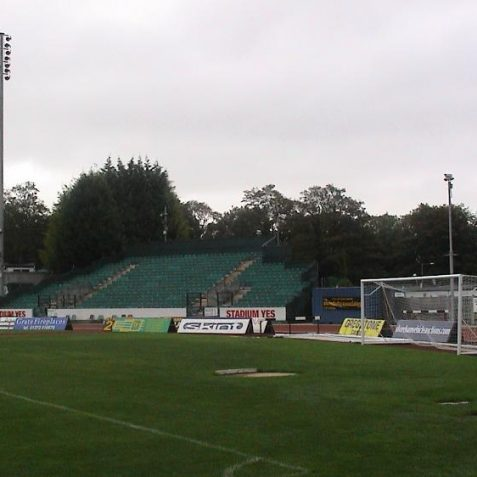 The east end of the pitch   Photo by David Lockie