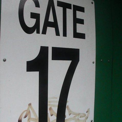Gate 17 | Photo by David Lockie