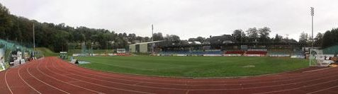 Panorama of Withdean Stadium - contact me <a href=