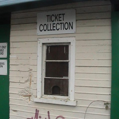 The ticket office   Photo by David Lockie