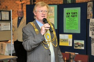 The Mayor of Brighton and Hove, Councillor Geoffrey Wells | Photo by Tony Mould