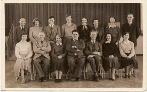 Teachers from 1949/1950s