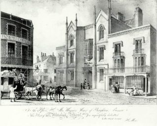 The National School, Church Road, date unknown | Image reproduced with kind permission from Brighton and Hove in Pictures by Brighton and Hove City Council