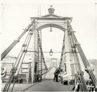 Chain Pier, c. 1875: Chain Pier viewed from the landing stage. | Image reproduced with kind permission from Brighton and Hove in Pictures by Brighton and Hove City Council