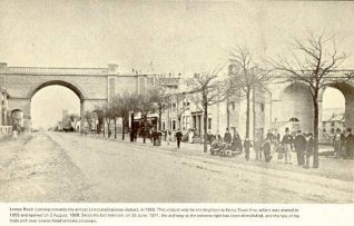 Lewes Road Viaduct 1895 | Image reproduced with kind permission from Brighton and Hove in Pictures by Brighton and Hove City Council