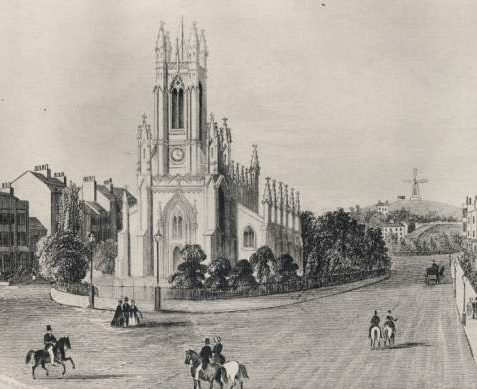 St. Peter's Church, c. 1860 | Image reproduced with kind permission from Brighton and Hove in Pictures by Brighton and Hove City Council