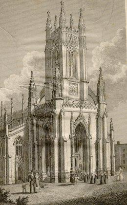 St Peter's Church, 1829 | Image reproduced with kind permission from Brighton and Hove in Pictures by Brighton and Hove City Council