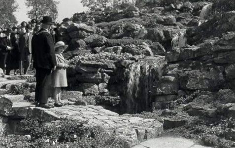 The Rockery: designed in 1935