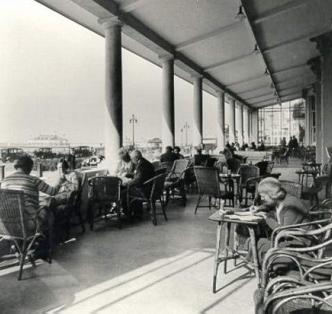 Grand Hotel Sun Lounge, c. 1935: | Image reproduced with kind permission from Brighton and Hove in Pictures by Brighton and Hove City Council