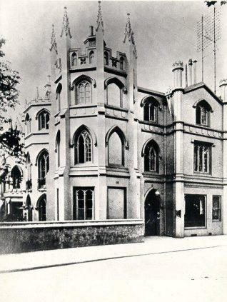 Gothic House ( later Priory Lodge or The Priory ) c. 1870. | Image reproduced with kind permission from Brighton and Hove in Pictures by Brighton and Hove City Council