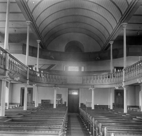 Interior of St. George's Church, c. 1940 | Image reproduced with kind permission from Brighton and Hove in Pictures by Brighton and Hove City Council