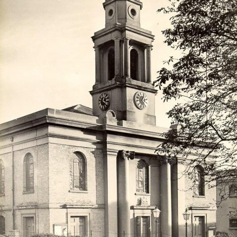 St. George's Church, Exterior, c. 1940 | Image reproduced with kind permission from Brighton and Hove in Pictures by Brighton and Hove City Council