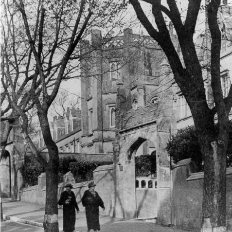 St Mary's Home for female penitents , Wykeham Terrace, 1930s: numbers 1-5 and 8-11 Wykeham Terrace housed part of what was later to become St Mary's Home for female penitents, founded for the reformation of prostitutes by Reverend George Wagner, nephew of Henry Wagner, vicar of Brighton.   Image reproduced with kind permission from Brighton and Hove in Pictures by Brighton and Hove City Council