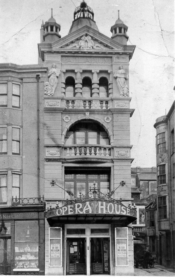 545a82a3ec Palladium Cinema, c. 1912: The Palladium Cinema stood on the junction of  King's