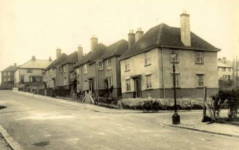 First council built houses c1890