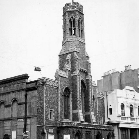 Holy Trinity Church, 1964. | Image reproduced with kind permission from Brighton and Hove in Pictures by Brighton and Hove City Council