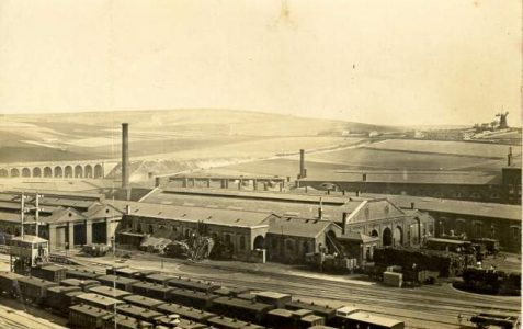 Goods yards and engine sheds