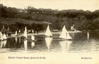 The Lake   Images reproduced with kind permission from Brighton and Hove in Pictures by Brighton and Hove City Council