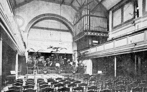 First cinema opened in 1911