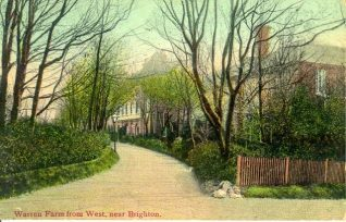 Warren Farm from West, c. 1910 | Image reproduced with kind permission from Brighton and Hove in Pictures by Brighton and Hove City Council