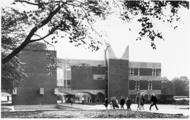University of Sussex, c. 1962 | Picture reproduced with kind permission of Brighton and Hove in Pictures