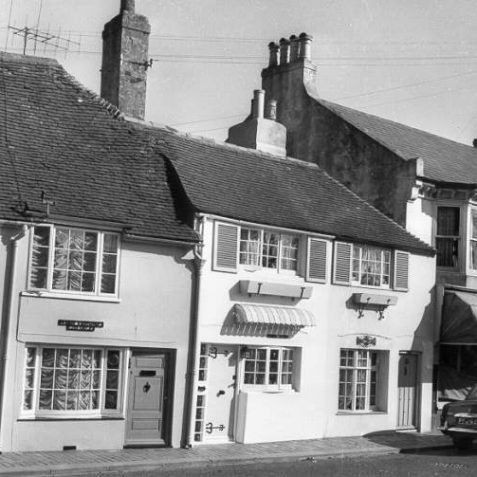 Cottages on Church Hill, 1960: | Image reproduced with kind permission from Brighton and Hove in Pictures by Brighton and Hove City Council