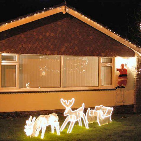 Christmas illuminations   Photo by Tony Mould