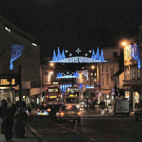 City lights 2007 | Photo by Tony Mould