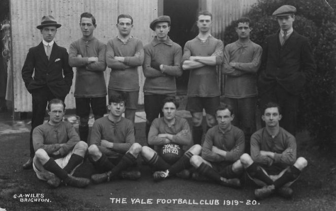 Yale Football Club | From the private collection of June Churchill