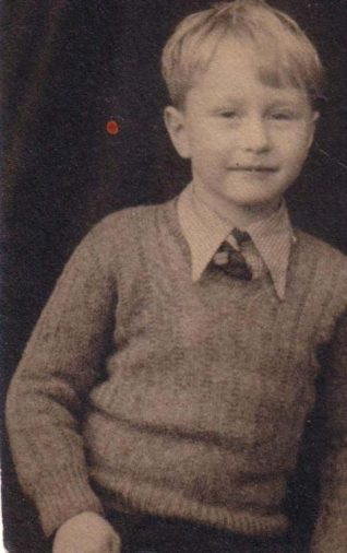 Tony Simmonds aged 10 years | From the private collection of Tony Simmonds