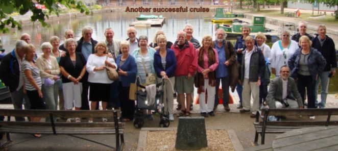 2011 Chichester Canal Cruise outing | Photo by Dave and June