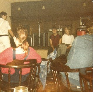 The Zap Club, 1983 | Photo by Alison Clough