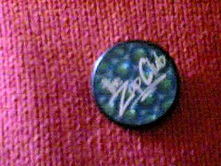 Alison's sister's Zap Club badge | Photo by Alison Clough