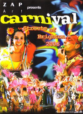 Carnival flyer | Image from the Zap archive