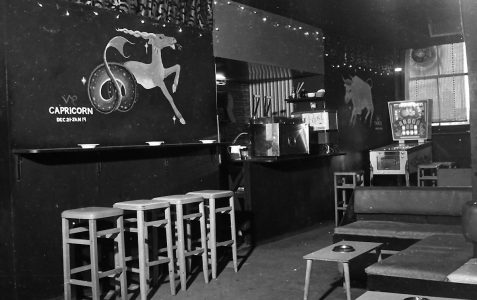 The coffee bar scene
