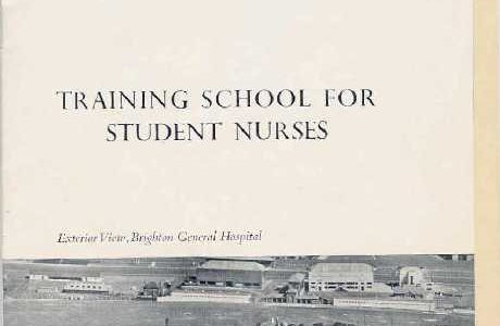 Student Nurses Prospectus in the 1950s