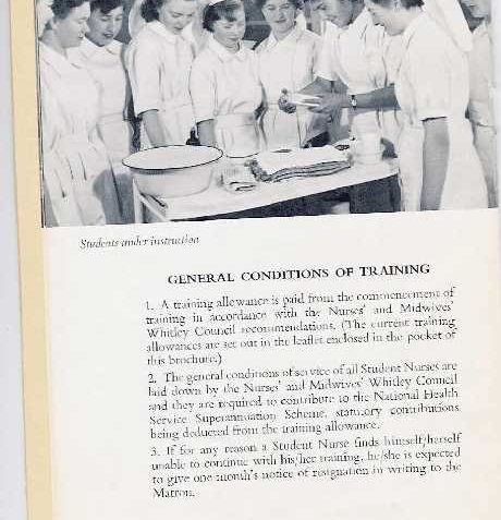 Student Nurse prospectus | From the private collection of Ken Ross